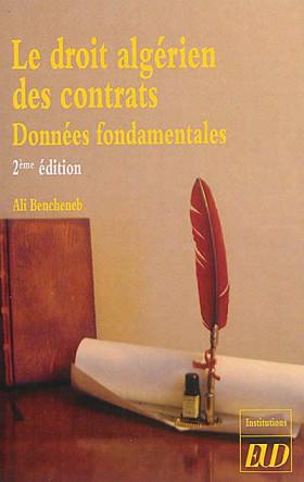 Le droit algérien des contrats