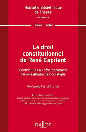 Le droit constitutionnel de René Capitant