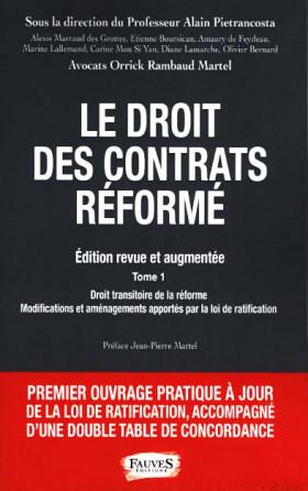 Le droit des contrats réformé, 2 ouvrages