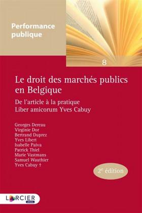 Le droit des marchés publics en Belgique