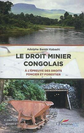 Le droit minier congolais