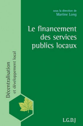 Le financement des services publics locaux