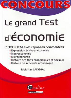 Le grand Test d'économie