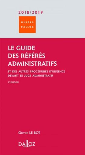 Le guide des référés administratifs 2018-2019