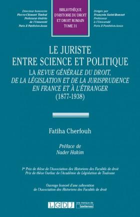 Le juriste entre science et politique
