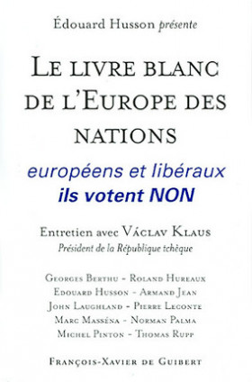 Le livre blanc de l'Europe des nations