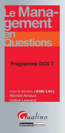 Le management en questions - Programme DCG 7