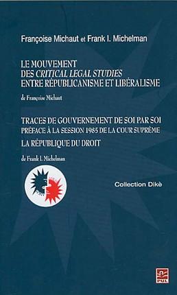 Le mouvement des critical legal studies entre républicanisme et libéralisme
