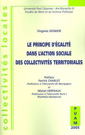 Le principe d'égalité dans l'action sociale des collectivités territoriales