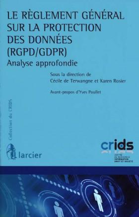 Le réglement général sur la protection des données (RGPD/GDPR)