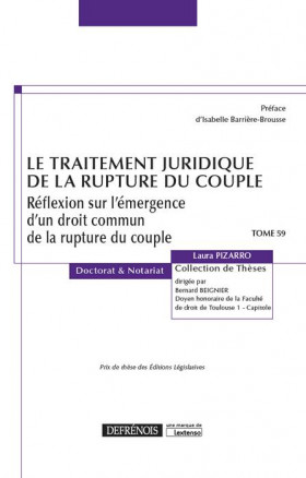 Le traitement juridique de la rupture du couple