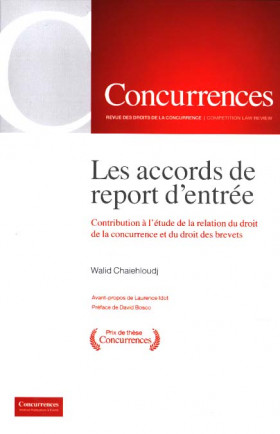 Les accords de report d'entrée