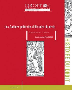 Les cahiers poitevins d'Histoire du droit