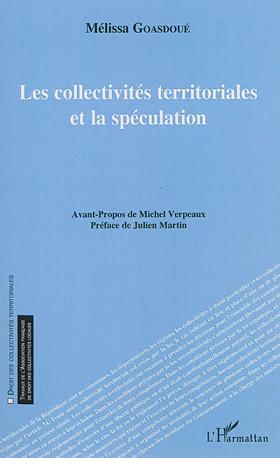 Les collectivités territoriales et la spéculation
