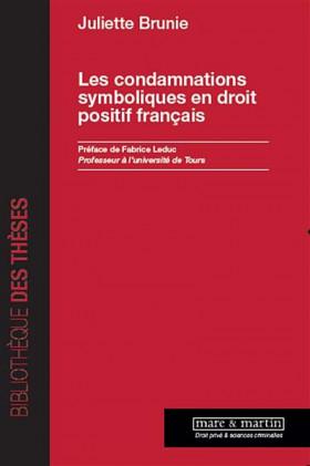 Les condamnations symboliques en droit positif français