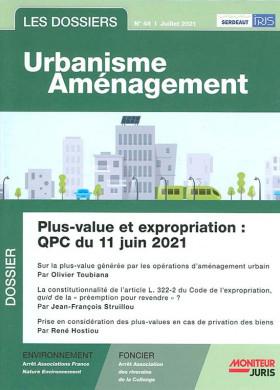 Les dossiers urbanisme aménagement, juillet 2021 N°48