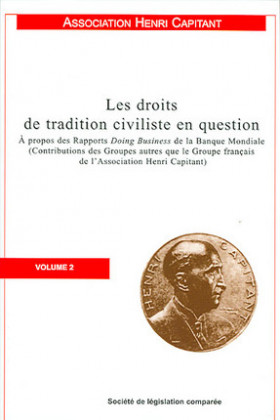 Les droits de tradition civiliste en question