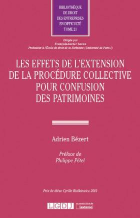 Les effets de l'extension de la procédure collective pour confusion des patrimoines