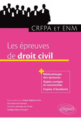 Les épreuves du droit civil