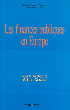 Les finances publiques en Europe