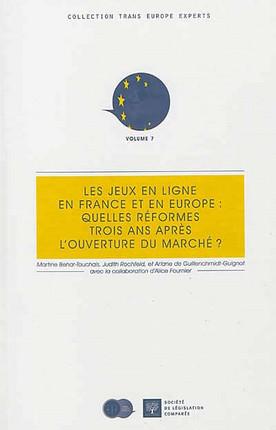 Les jeux en ligne en France et en Europe : quelles réformes trois ans après l'ouverture du marché ?