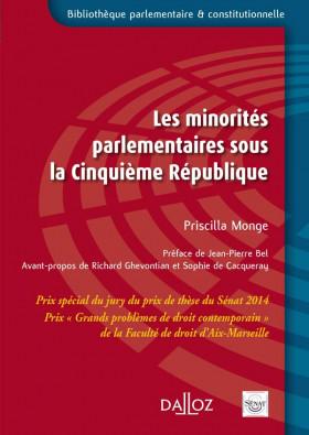 Les minorités parlementaires sous la Cinquième République