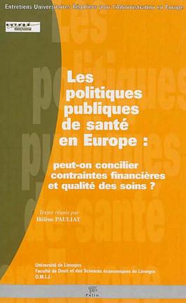 Les politiques publiques de santé en Europe