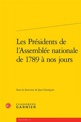 Les Présidents de l'Assemblée nationale de 1789 à nos jours