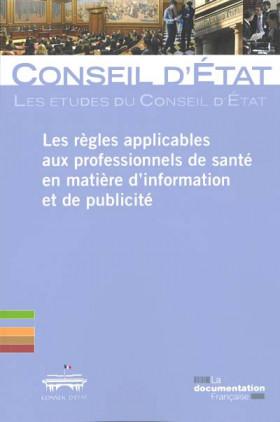 Les règles applicables aux professionnels de santé en matière d'information et de publicité