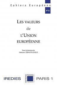Les Valeurs de l'Union européenne