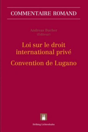 Loi sur le droit international privéConvention de Lugano