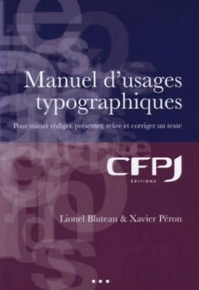 Manuel d'usages typographiques