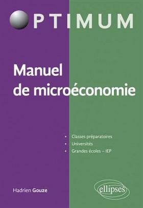 Manuel de microéconomie