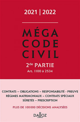 Méga code civil 2021-2022
