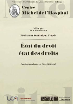 Mélanges en l'honneur du Professeur Dominique Turpin