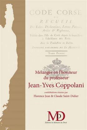 Mélanges en l'honneur du professeur Jean-Yves Coppolani