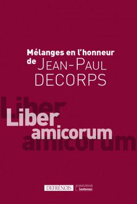 Mélanges en l'honneur de Jean-Paul Decorps