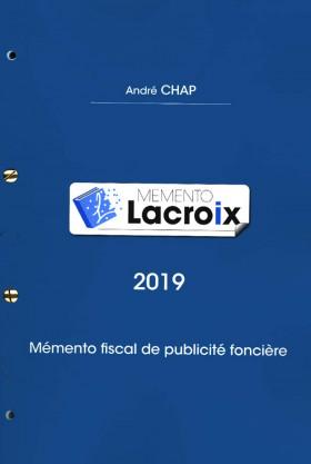 Mémento Lacroix 2019