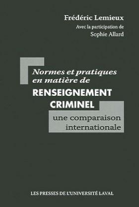 Normes et pratiques en matière de renseignement criminel