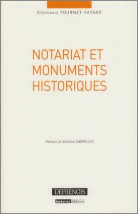 Notariat et monuments historiques