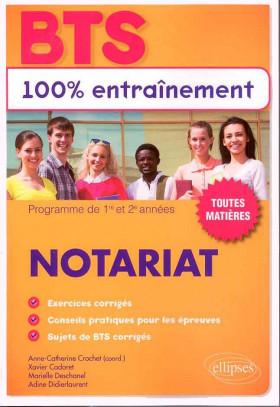 Notariat : programme de 1re et 2e années