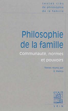 Philosophie de la famille
