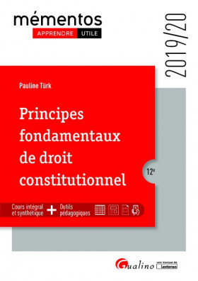 Principes fondamentaux de droit constitutionnel