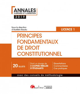Principes fondamentaux de droit constitutionnel L1