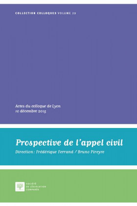 Prospective de l'appel civil