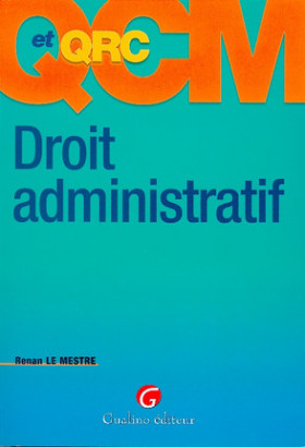 QCM et QRC. Droit administratif