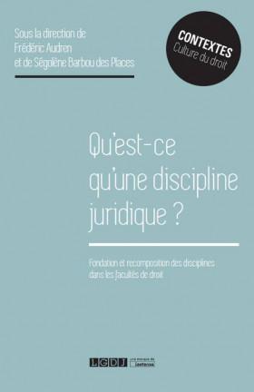 Qu'est-ce qu'une discipline juridique ?