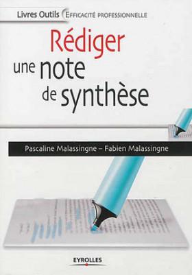 Rédiger une note de synthèse