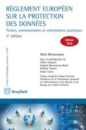 Règlement européen sur la protection des données - Edition 2018