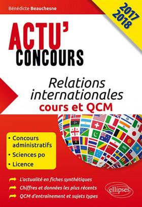 Relations internationales : cours et QCM 2017-2018